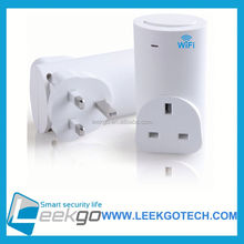 LEEKGO Homtrol PRO Cell Phone Remote Control Wireless WiFi Smart AC Power Socket Switch Plug Outlet Good Quality
