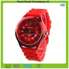 Promotion gifts flower shaped silicone wrist watch