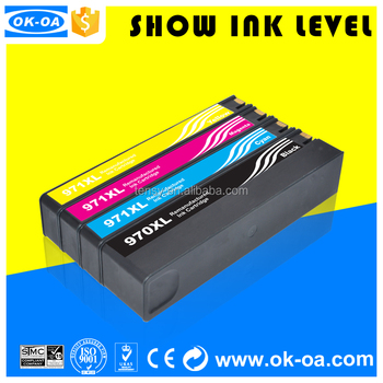 Black Friday hot sale reset chip 970 970xl printer x451 for HP printer ink cartridge