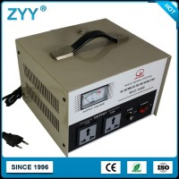 SVC Output 220V 1000VA Servo Motor Control Automatic Voltage Regulator For Refrigerator