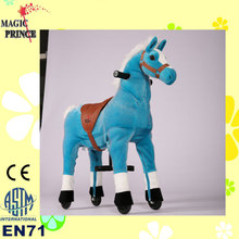 (EN71&ASTM&CE)~(Pass!!)~Dalian No Need Battery No Electric Just Walking Horse Toys horse on wheels for sales Camel
