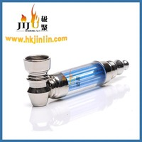 JL-299 Yiwu Jiju China Smoke Shop Metal Smoking Pipes Vapor