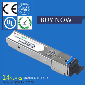 Single mode single fiber SFP optical module,BIDI fiber module 1.25 G 40 kilometers