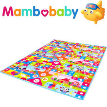 Color Printed Foldable EPE Foam Baby Play Floor Mats baby crawling mat