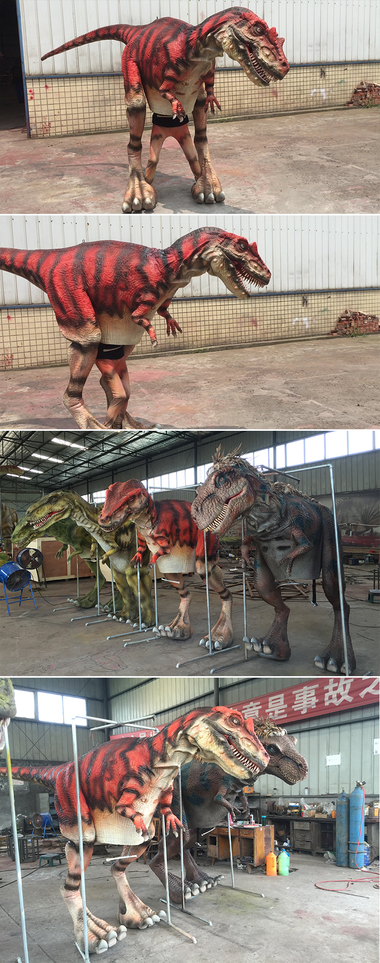 KANO-169 Stage Performance Allosaurus Walking Dinosaur Costume For Sale