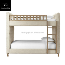 Best selling unique double twin kids children wooden bunk beds for sale at low price bunk bed