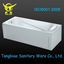 Plastic bathtub for adult ,jacuzzi bathtub made in China