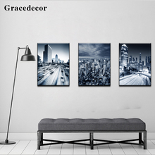 Home Ornaments Paintings Wall Hanging City Architecture Crystal Art