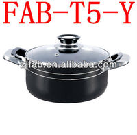 Black Color South America Big Cooking Pots