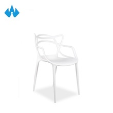 Comfortable Low Price Living Room Arm Plastic Chair Rattan