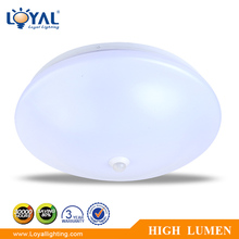 IP20 Indoor plastic cover smd 18w led modern ceiling lamp