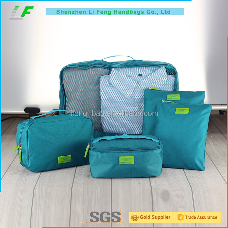 Promotional Makeup Travel Toiletry Cosmetic Bags Set