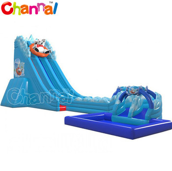New design inflatable water slide inflatable water slide with pool,inflatable water slide  for adult