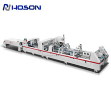 ZH-1000BFT-H Automatic Cardboard and micro Corrugated Box Folding Gluing Machine /Folder Gluer