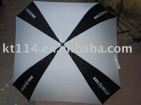 new design square golf umbrella