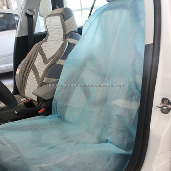 Disposable Car Seat Covers Front Seat, Waterproof- Pack of 2