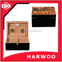 Pretty make wholesale wooden cigar boxes for you