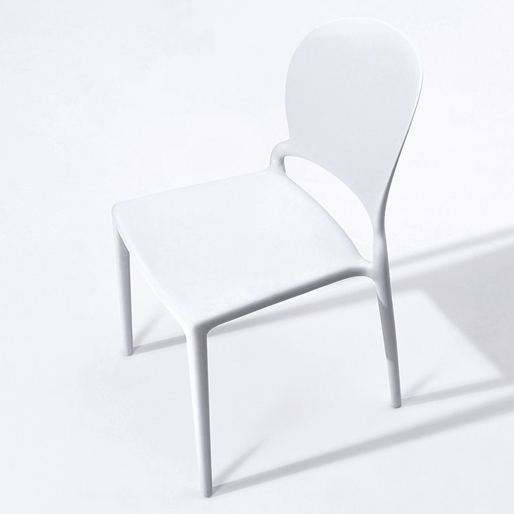 Monoblock italian design beach plastic chair