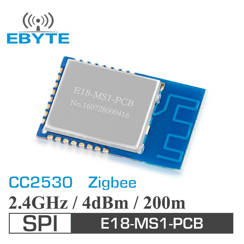 Ebyte E18-MS1-PCB 2.5mW 200m CC2530 2.4GHz zigbee transmitter and receiver module