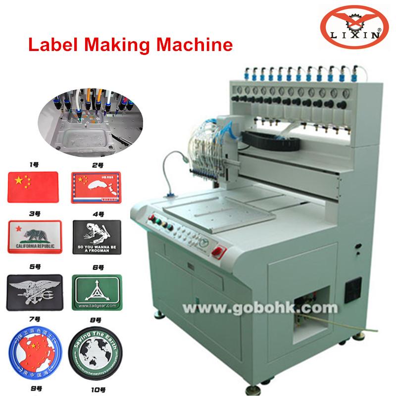 plastic label making machine