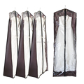 Eco-friendly clear plastic garment bags