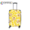 Customized Design top fashion light weight pc bag travel trolley luggage eminent luggage ugly luggage