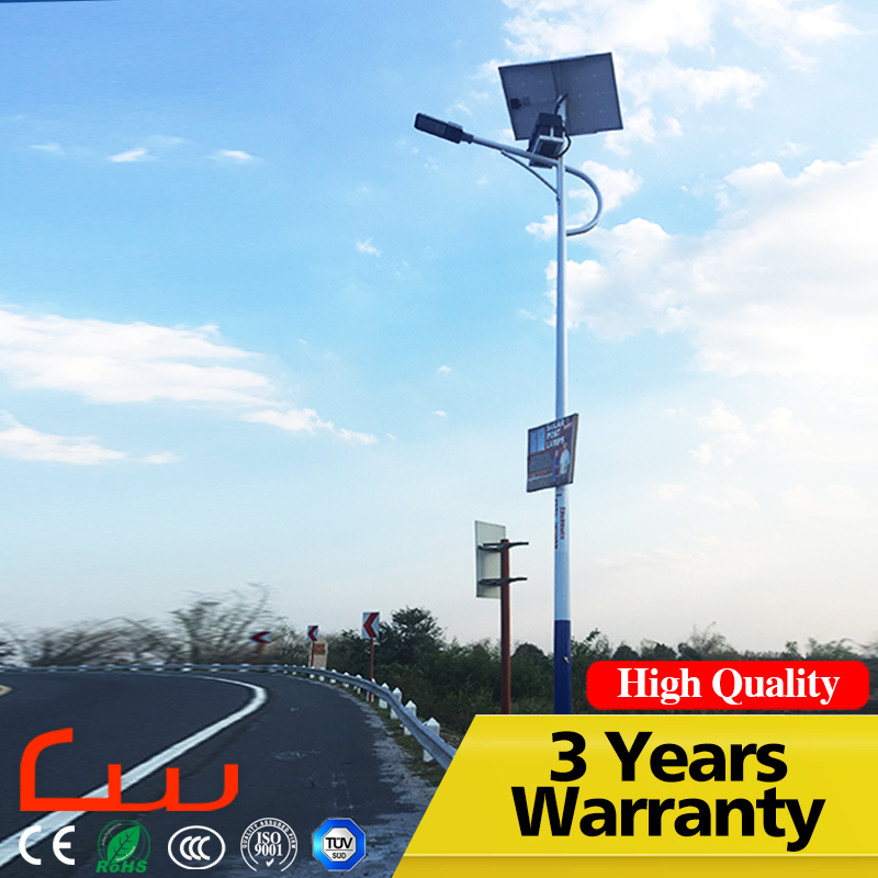 Adjustable direct sale 10M pole power energy solar LED street light