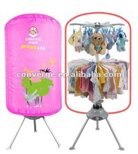 2012 hot sale round portable clothes dryer ,home use machine