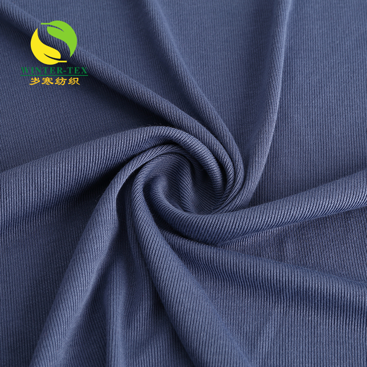 hot sale eco-friendly single jersey bamboo fiber fabric wholesale