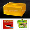 The most popular strong sticky rat rubber hot melt adhesive