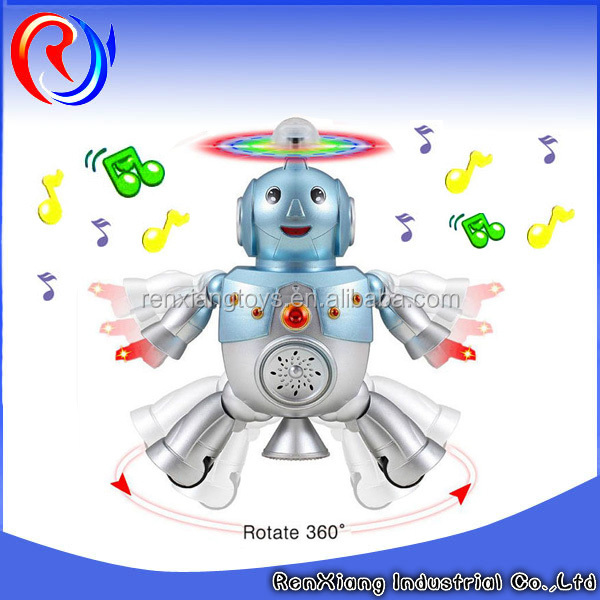 Ali baba Sell lots of B/O cute toy robot with dancing music rotate