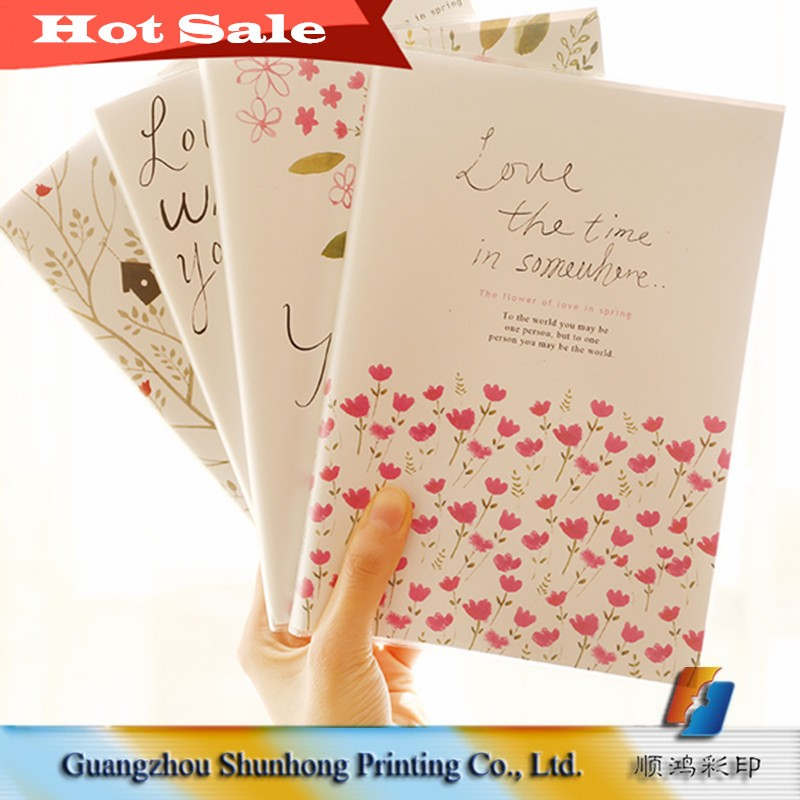 Alibaba Guangzhou Factory Cheap Personalized Paper Notebook Printing, Notepad Printing Bulk