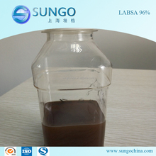 High purity Linear alkyl benzene sulphonic acid LABSA 96% for Detergent Use