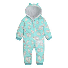 Wholesale baby romoer winter baby boy clothes romper 100% cotton