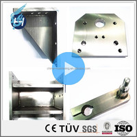 high precision ISO9001 grinding milling turning aluminum machining sus304 stainless steel hinge plate price egypt with design