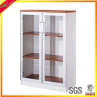 Wooden particle board plastic file cabinet for sale