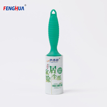 Logo printed widely use sticky reusable lint roller