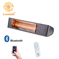 Bluetooth Control/Remote control IP65 Infrared Electric Heater Low Glare Outdoor Patio Heater