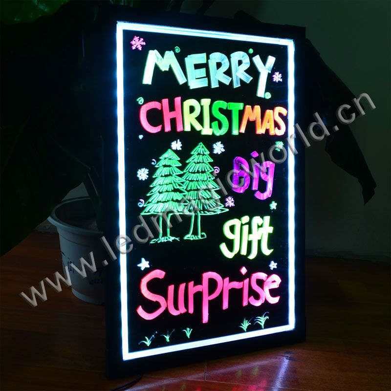 Led Writing Boards Outdoor Moving Advertising Sign
