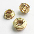 China Supplier OEM Customized Metal Brass CNC Threaded Inserts For Toy