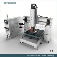 XYZ-P5 5 Axis CNC Machine for 3D jobs, mould industry