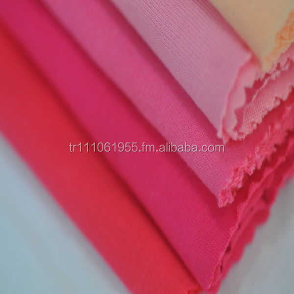 100% Cotton Single Jersey Knitted Fabric for T-shirt
