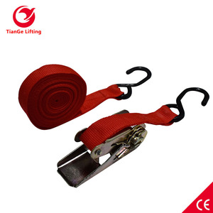 Ratchet Strap Cargo Lashing Sling Approved CE Certification