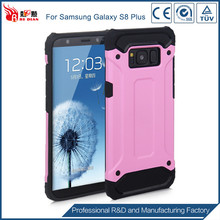 Factory price tpu pc material for samsung s8 plus cover