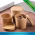 Waterproof kraft paper take out soup porridge paper cup bowl with lids