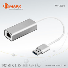 Aluminum USB3.0 to RJ45 Gigabyte Ethernet LAN Network adapter