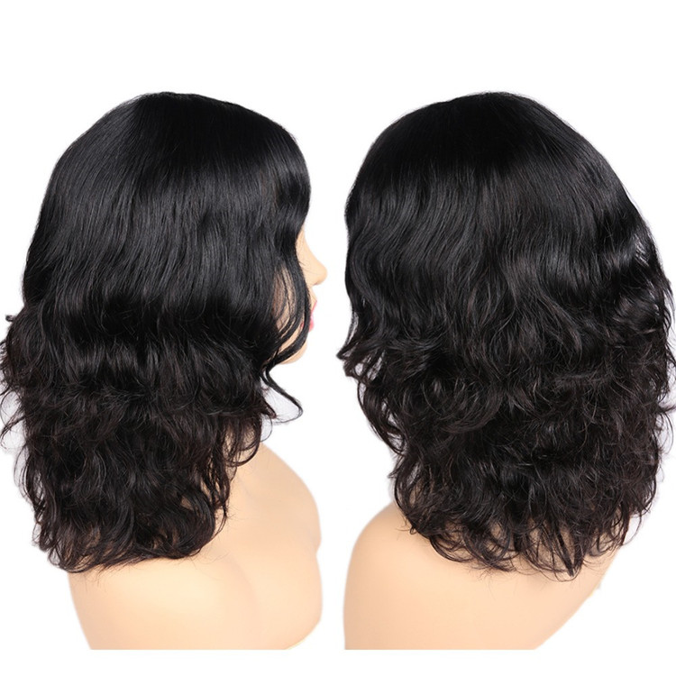 LIAZAHAIR Wholesale Vrigin Cuticle Aligned Hair With Baby Hair Curly Natural Hairline Full Lace Wig Remy Hair Free Part