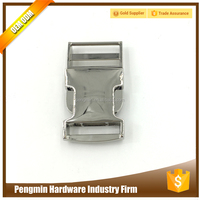 1 inch metal side release metal bag buckle for bags