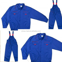 TC comfort construction workwear overalls two pieces