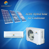 ACDC 90% wall split home use hot weather 9000btu 12000btu solar powered air conditioner and heating